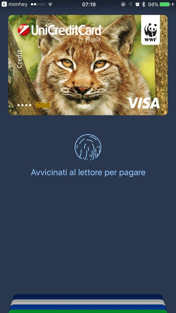Apple Pay disponibile in Italia