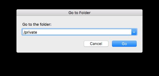 Go To Folder...