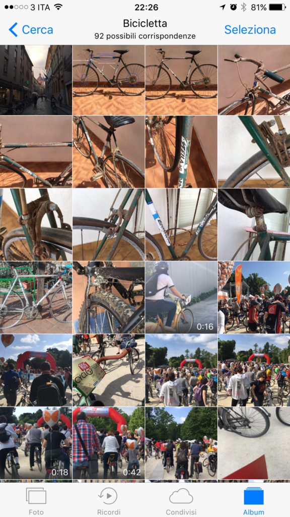 Ricerca Bicicletta