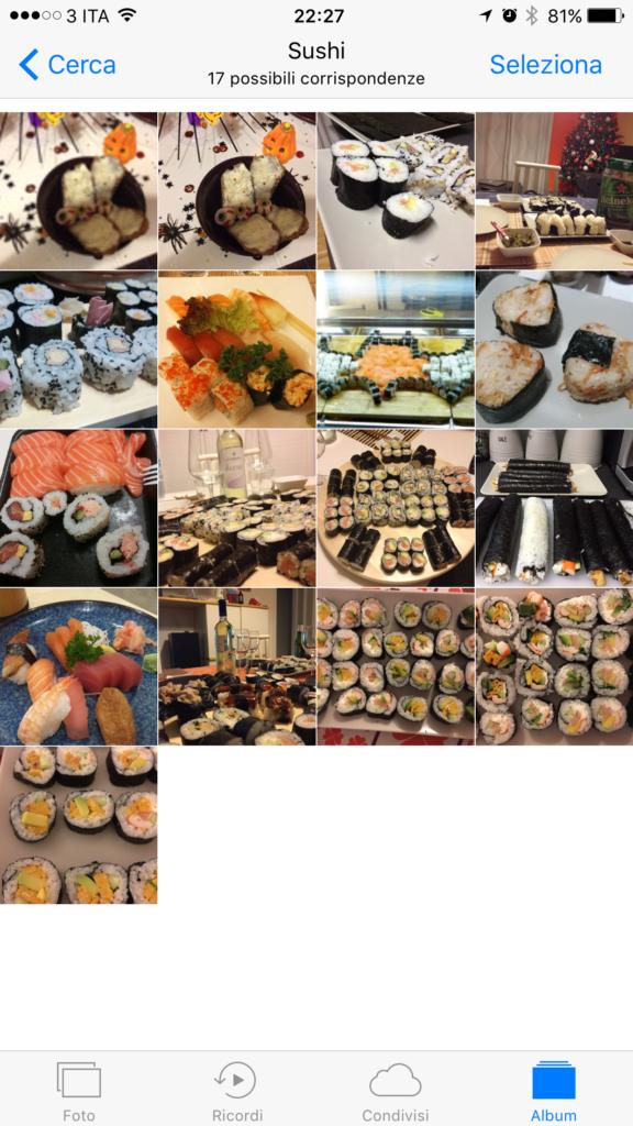 Ricerca Sushi